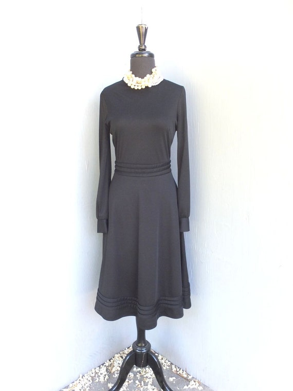 Vintage 70s Dress Jo Lester Day Dress Fit And Flare
