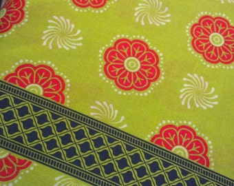 Sari Wrap, Melon, Grand Bazaar, Patty Young, Michael Miller, Quilting fabric, Cotton fabric, Sewing, Crafting