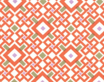 Kate Spain Fabric, Pagoda Spirit, Good Fortune by Kate Spain for Moda Fabrics, 27108-12