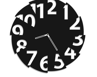 Modern clock Broken Time