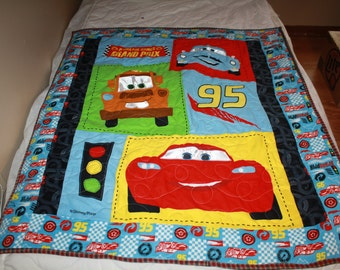 Car's Baby Quilt