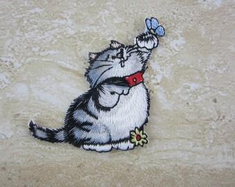 Cat Kitty Kitten Patches Iron On