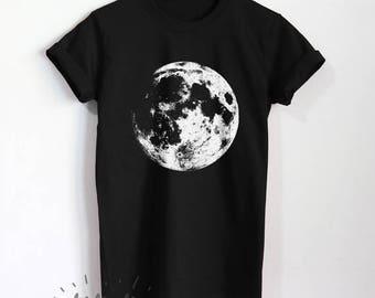full moon tshirt etsy