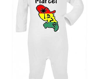 Pajamas baby Martinique personalized with name