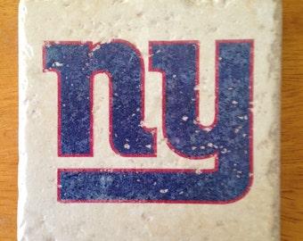 New York Giants Coasters Set of 4