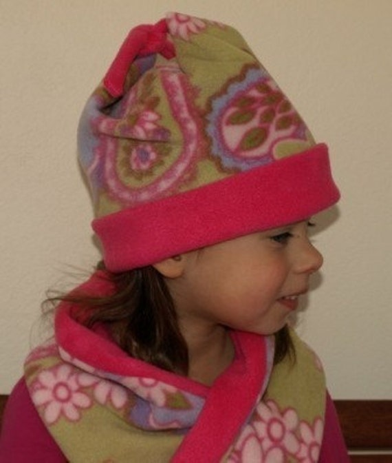 Fleece hat pattern, Size 0 to 6, Winter hat pattern, Hat sewing ...