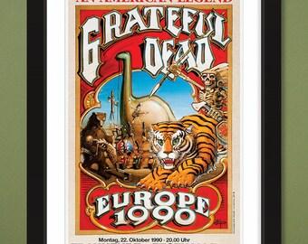 Grateful Dead – Five Concert Poster Set (2@12x16 & 3@12x18 Heavyweight Art Prints)