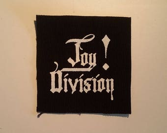 Joy division small patch post punk goth new wave