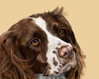 A Custom Portrait of Your Pet