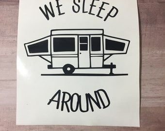 Camper Decal Etsy