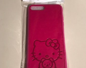 Hello Kitty iPhone 8/7 plus leather case
