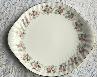 Minton Spring Bouquet Cake Plate