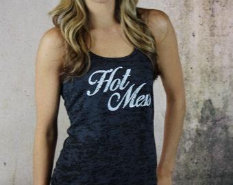hot mess shirt. workout tank. hot mess. yoga clothes. workout clothes. hot mess mom. workout tanks. gym tank. fitness apparel. missFITTE