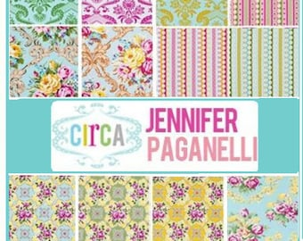 Circa by Jennifer Paganelli - Fat Quarter bundle of 12