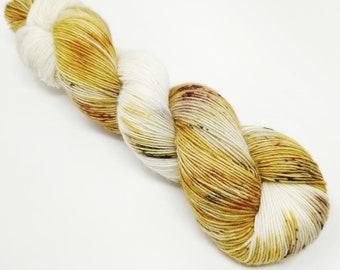 Barn Owl -  100g - Single Ply - Superwash Merino - Hand Dyed Yarn