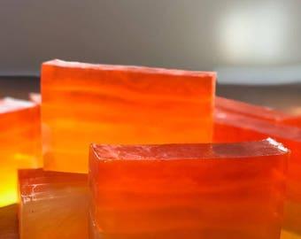 Tangerine Sunset Glycerine Soap