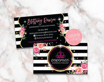 Paparazzi business cards etsy popular items for paparazzi business cards reheart Gallery