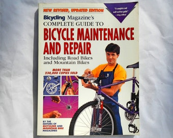 Bicycle Maintenance and Repair Manual Vintage Complete Guide