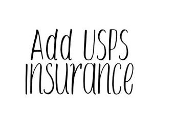 Add- on/ USPS Insurance
