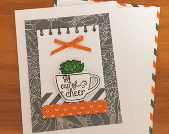A Cup of Cheer Card