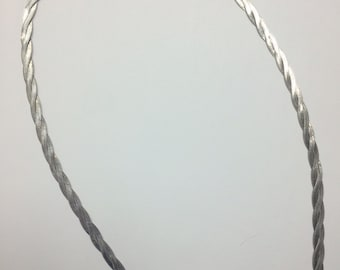 Double Strand Herringbone 925 Chain / Necklace With Lobster Clasp