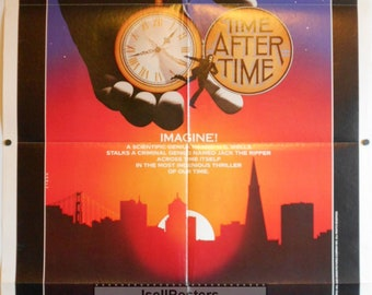 Time After Time - 1979 - Original US one sheet movie poster