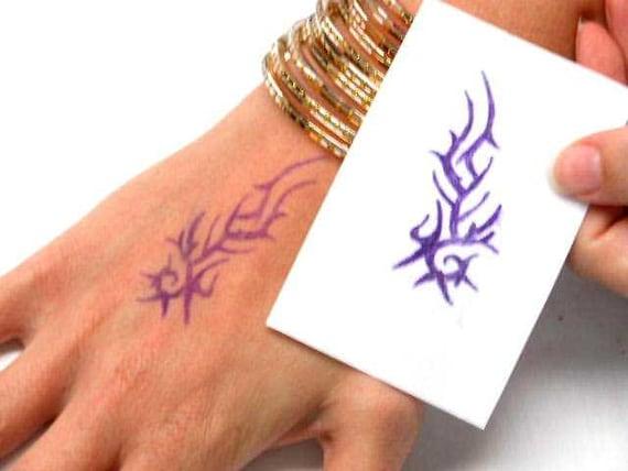 Henna design art tattoo stencil carbon copy spirit master for Temporary tattoo tracing paper
