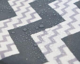 Laminated Linen Fabric - Zig-Zag Web - By the Yard 89330