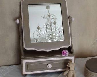 Old ask vanity patina