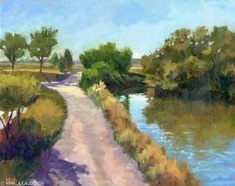 Via Lio Maggiore oil painting