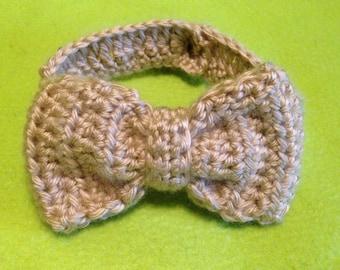 Crochet Baby Bow Tie