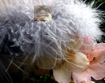 Soft Grey Marabou Boa Feathers