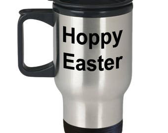 Easter Travel Mug | Hoopy Easter | Easter Baby Gift | Easter Gift Ideas | Easter Decorations | Gifts For Her | Easter Bunny