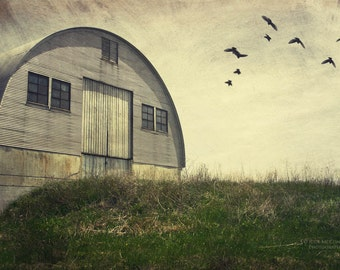 farmland barn birds architecture landscape photography summer fine art photography home decor