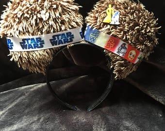 Star Wars ears, Disney Minnie ears custom made
