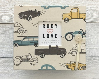 BABY BOOK | Vintage Cars Album