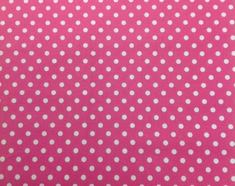 Michael Miller Dumb Dot, Fuschia 1 Yard