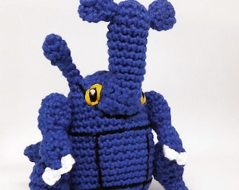Heracross Amigurumi PATTERN - Pokemon Pattern - Crochet Pattern - pokemon go
