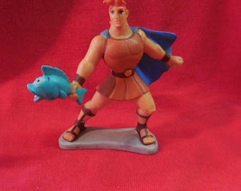 90s Disney Hercules pvc Figure 1990s vintage