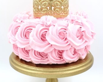 CAKE TOPPER || Elle Lace Crown || Ready to Ship || WATERPROOF