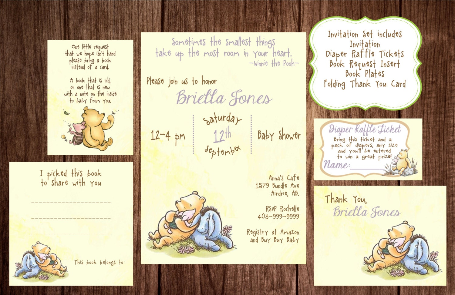 Printable winnie the pooh baby shower story book baby shower zoom filmwisefo
