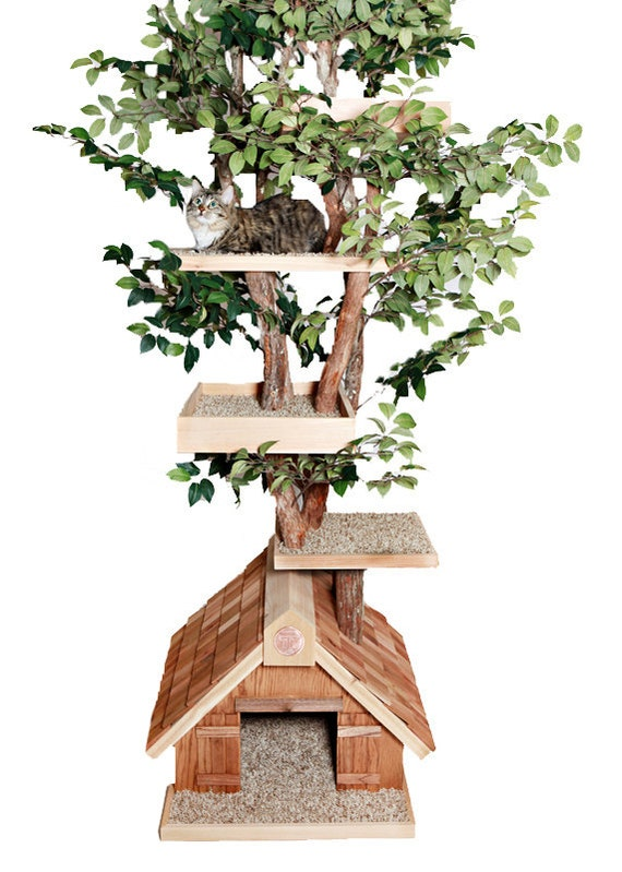 cat tree house large cat tree house 29699