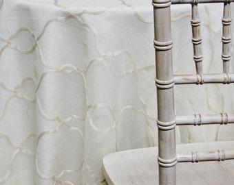 Vertigo Sheer In Ivory   Ideal For Events, Parties U0026 Home Decor