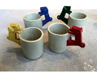 Handmade Ceramic Puppy Cup