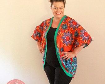 PATTERN Ladies Kimono - Batwing - PDF Sewing Pattern - Instant Download - Pattern Emporium