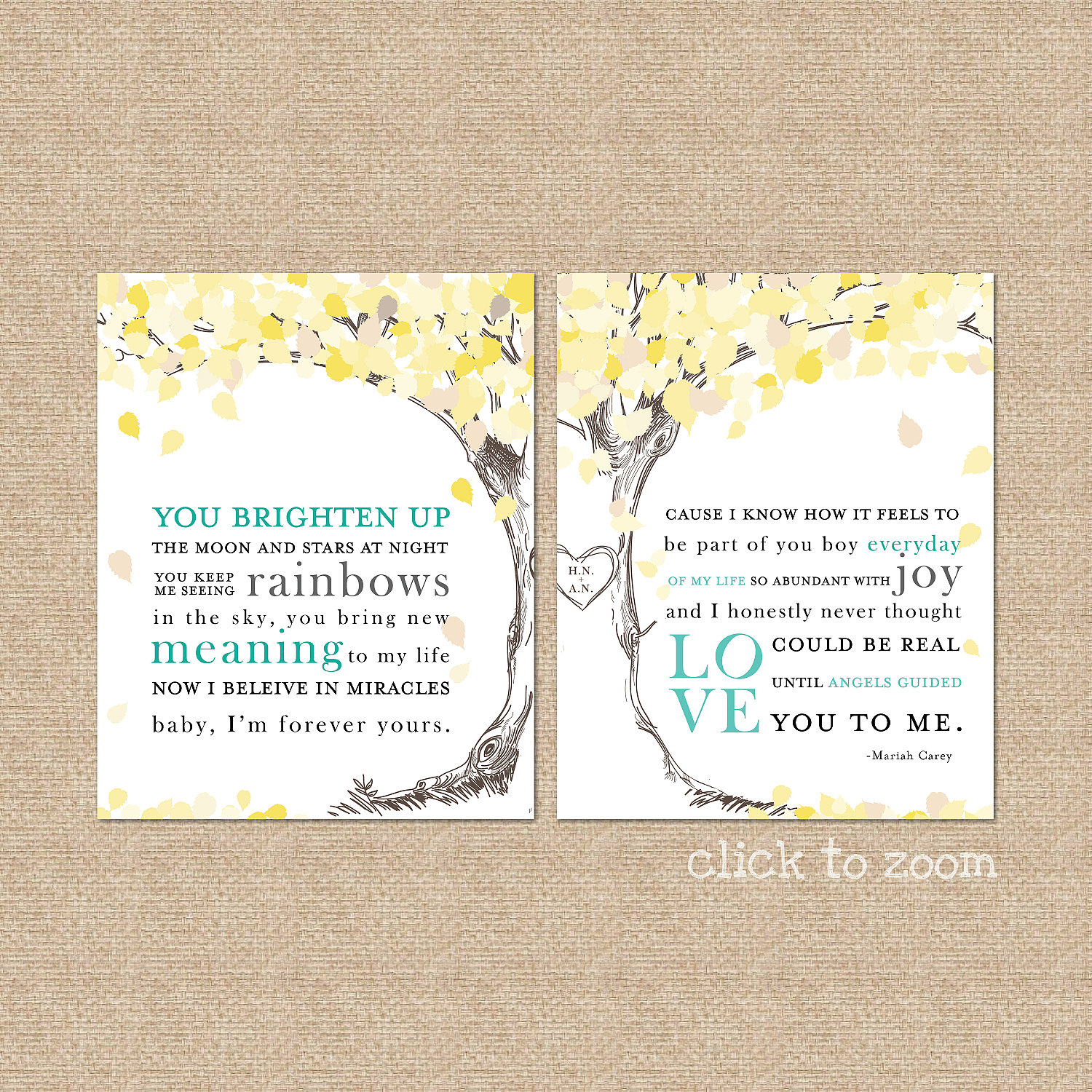 Wedding song lyrics print a personalized keepsake zoom stopboris Image collections