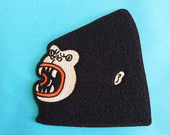 Gorilla Chenille Patch