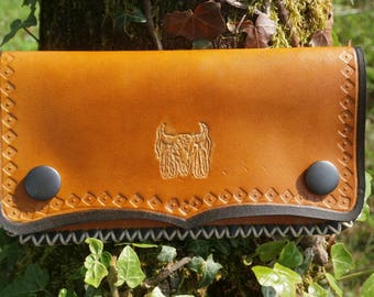 wallet leather full grain