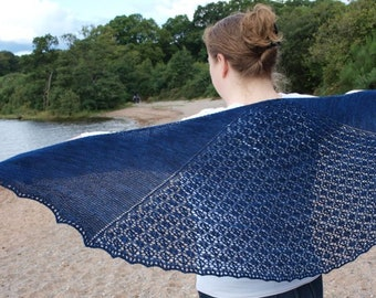 Goselet Shawl - PDF knitting pattern