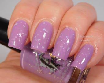 Dammit Janet - custom purple orchid lilac Rocky Horror inspired nail polish